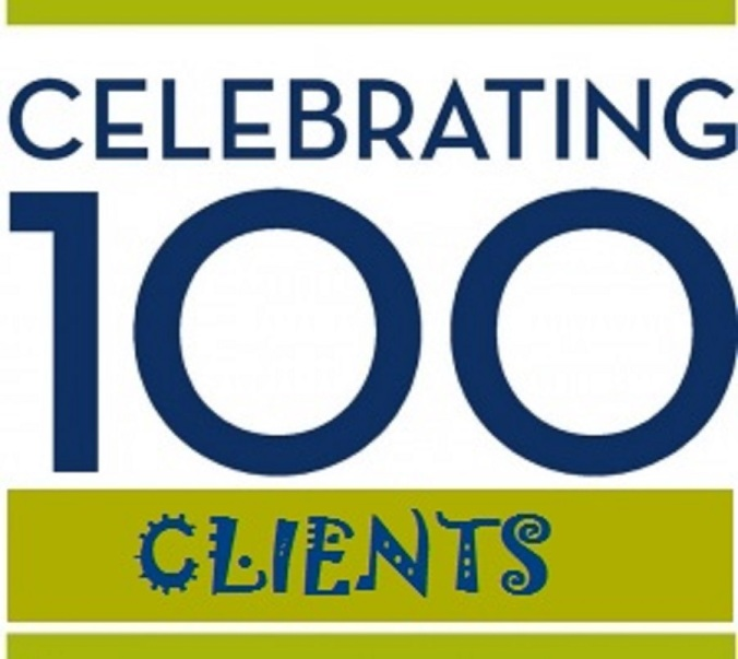 Celebrating 100 Clients!!